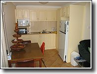 Self-contained with fully equipped kitchen